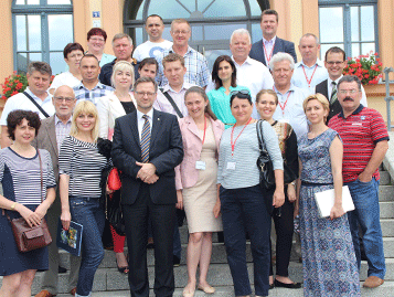 Internationale Delegation in Reichenbach